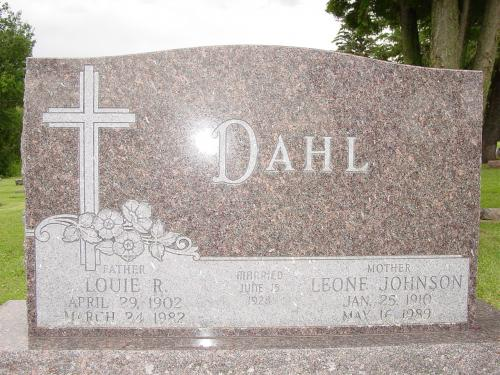 Louie and Leone Dahl